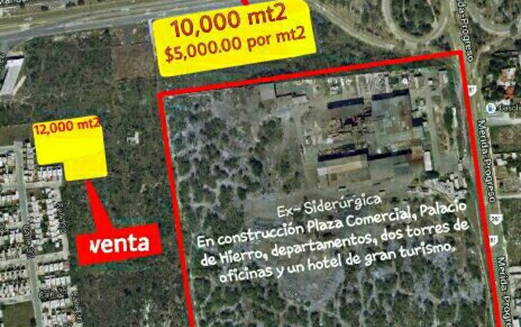 Foto de terreno habitacional en venta en  , francisco de montejo, m?rida, yucat?n, 1646204 No. 01
