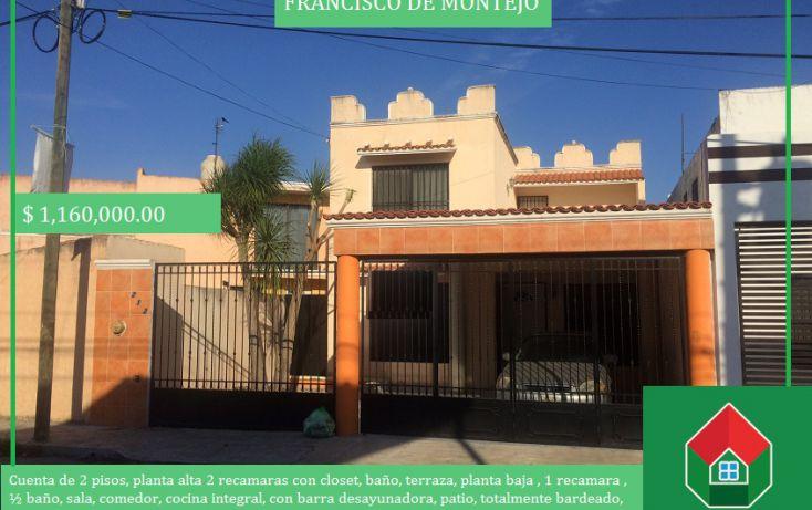 Foto de casa en venta en, francisco de montejo, mérida, yucatán, 1776206 no 01