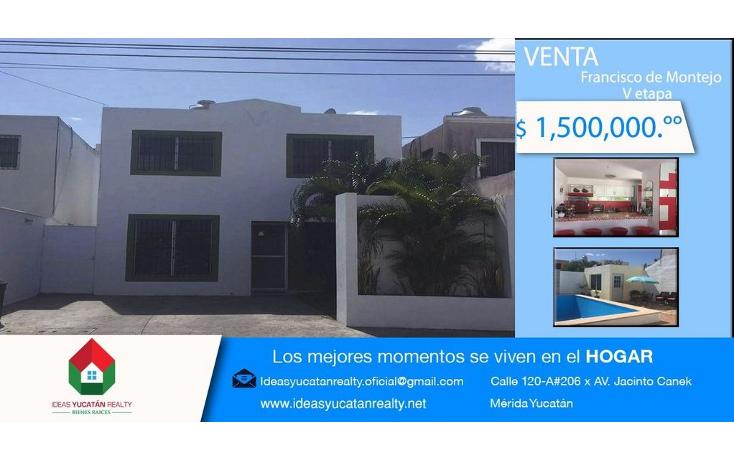 Foto de casa en venta en  , francisco de montejo, m?rida, yucat?n, 1965986 No. 01