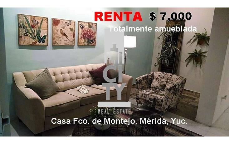 Foto de casa en renta en  , francisco de montejo, m?rida, yucat?n, 1969781 No. 01