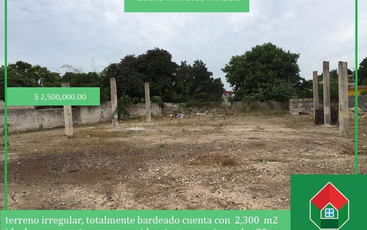 Foto de terreno habitacional en venta en  , francisco i madero, mérida, yucatán, 1556612 No. 01