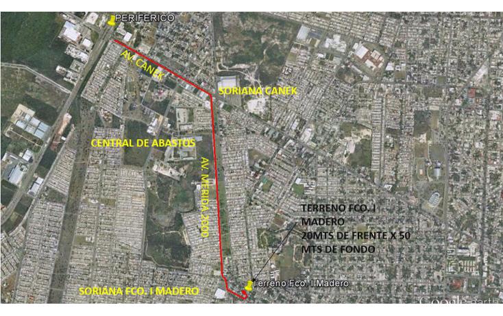 Foto de terreno comercial en venta en  , francisco i madero, mérida, yucatán, 1568558 No. 01