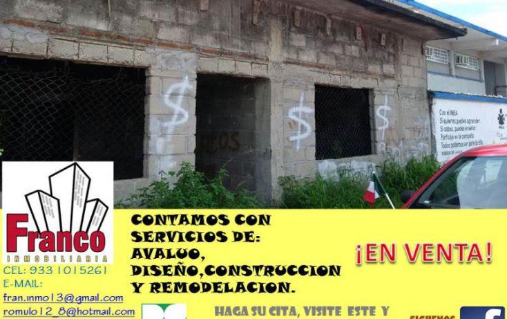 Foto de terreno habitacional en venta en francisco i madero, morelos, comalcalco, tabasco, 1536214 no 04