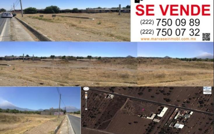 Foto de terreno comercial en venta en francisco i madero, san andrés calpan, calpan, puebla, 410991 no 01