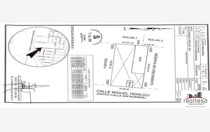 Foto de nave industrial en venta en  , francisco r almada, chihuahua, chihuahua, 590724 No. 11