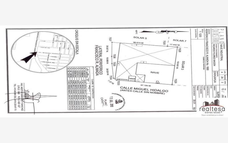 Foto de nave industrial en venta en  , francisco r almada, chihuahua, chihuahua, 590724 No. 12