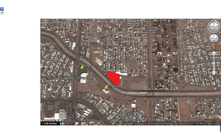 Foto de terreno comercial en venta en  , francisco ruiz massieu, chihuahua, chihuahua, 1628076 No. 01