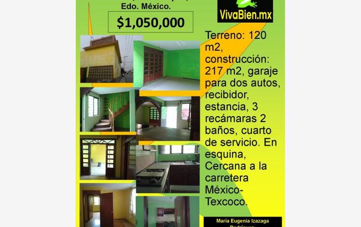 Foto de casa en venta en  , francisco villa, chicoloapan, m?xico, 1766982 No. 01