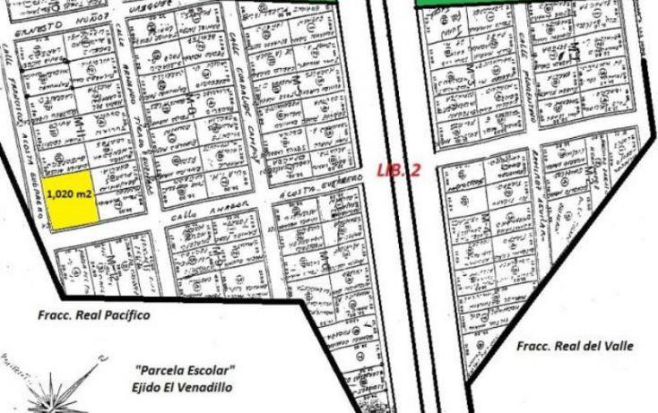 Foto de terreno habitacional en venta en francsico acosta 8 y 9, el venadillo, mazatlán, sinaloa, 1632786 no 03