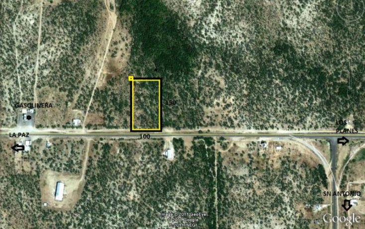Foto de terreno comercial en venta en frente a carretera, los planes, la paz, baja california sur, 1588078 no 02
