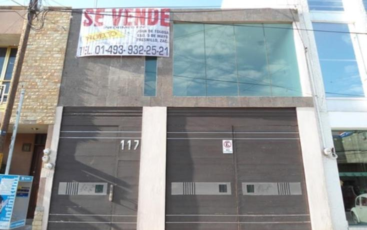 Foto de casa en venta en  , fresnillo centro, fresnillo, zacatecas, 808897 No. 01
