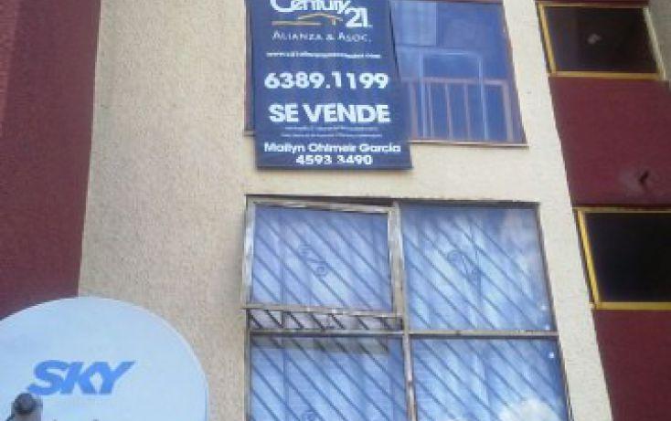 Foto de departamento en venta en fuente del mirador mz29 edif 7, fuentes del valle, tultitlán, estado de méxico, 1714860 no 01