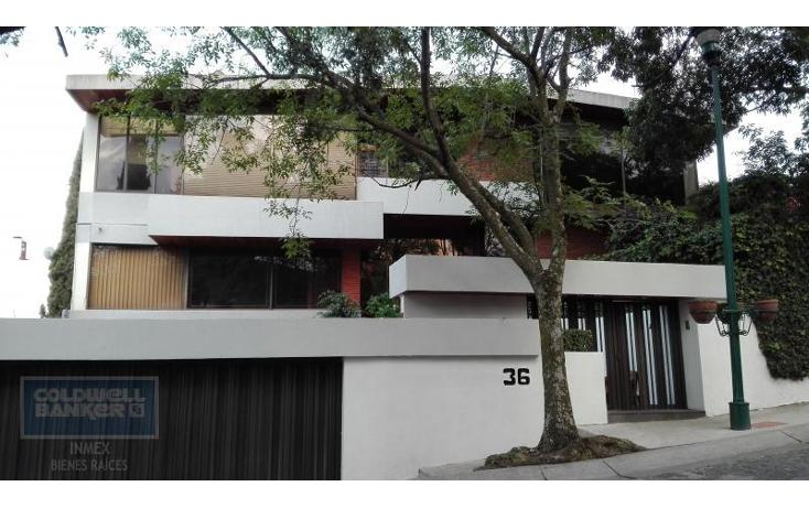 Foto de casa en venta en fuente del olivo 36, lomas de las palmas, huixquilucan, méxico, 1968453 No. 01