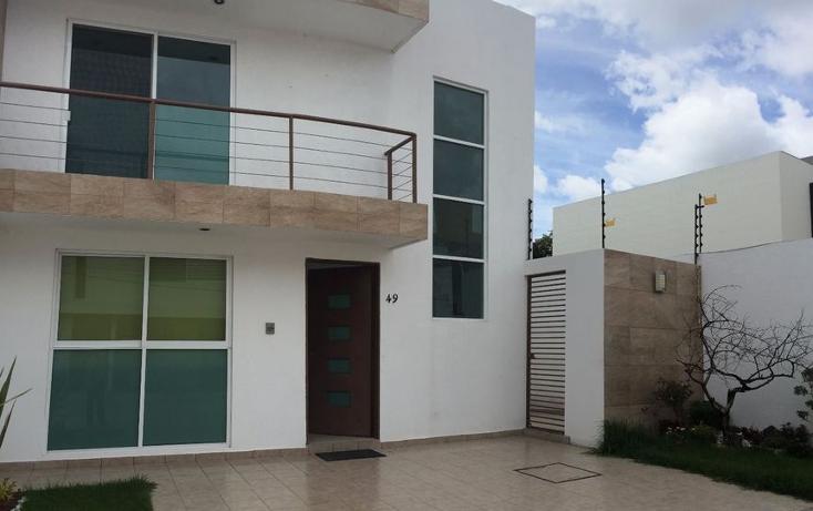Foto de casa en renta en  , fuentes de la carca?a, san pedro cholula, puebla, 1409133 No. 01