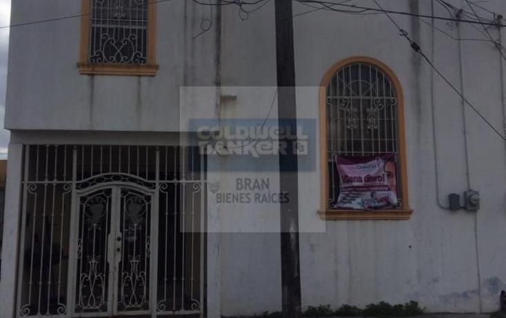 Foto de casa en venta en fuentes de olivia #4 , ciudad industrial, matamoros, tamaulipas, 1845524 No. 01