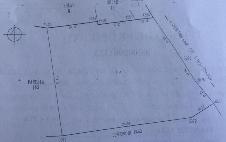 Foto de terreno habitacional en venta en  , fuentezuelas, tequisquiapan, querétaro, 1864298 No. 10