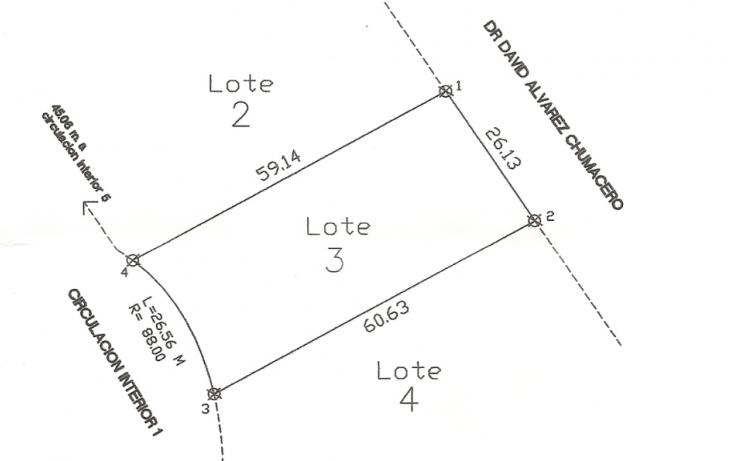 Foto de terreno habitacional en venta en, fundadores, chihuahua, chihuahua, 772779 no 03