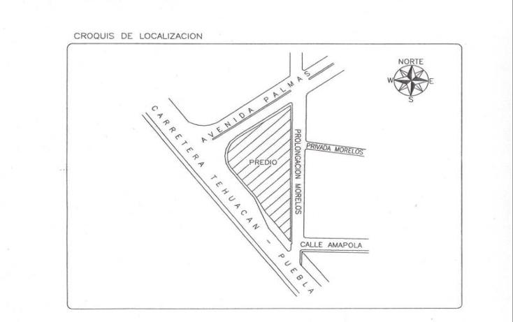 Foto de terreno habitacional en venta en garci crespo nonumber, san nicol?s tetitzintla, tehuac?n, puebla, 958891 No. 03
