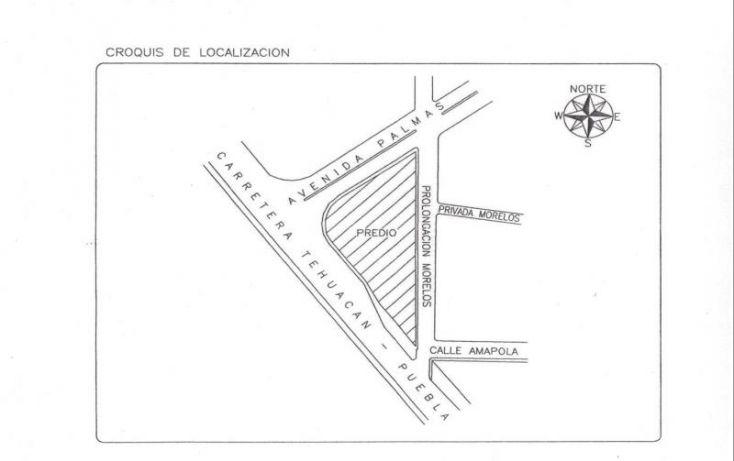Foto de terreno habitacional en venta en garci crespo, san nicolás tetitzintla, tehuacán, puebla, 958891 no 03