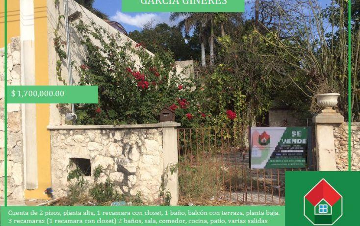 Foto de casa en venta en, garcia gineres, mérida, yucatán, 1460015 no 01
