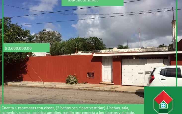 Foto de casa en venta en  , garcia gineres, m?rida, yucat?n, 1550288 No. 01