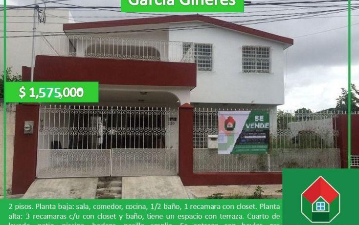 Foto de casa en venta en, garcia gineres, mérida, yucatán, 1577910 no 01