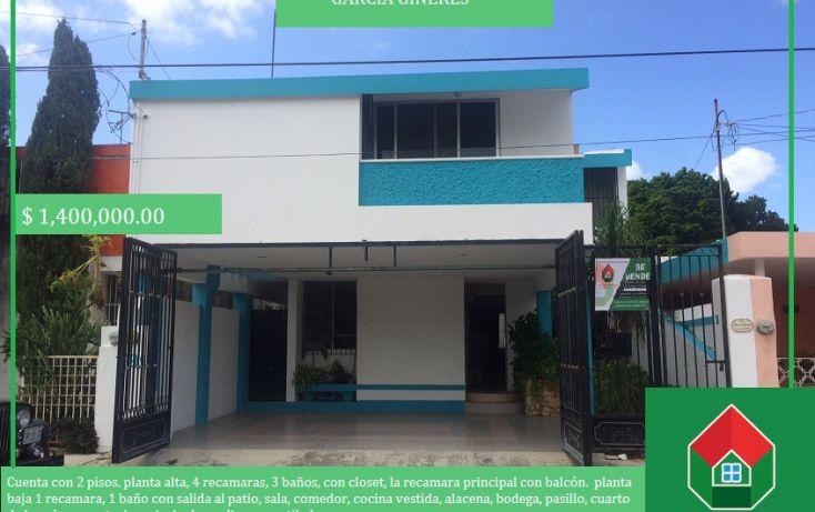 Foto de casa en venta en, garcia gineres, mérida, yucatán, 1577924 no 01