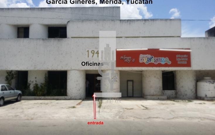 Foto de oficina en renta en  , garcia gineres, mérida, yucatán, 1948512 No. 01