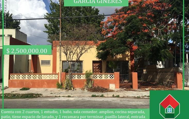 Foto de casa en venta en  , garcia gineres, mérida, yucatán, 2002932 No. 01