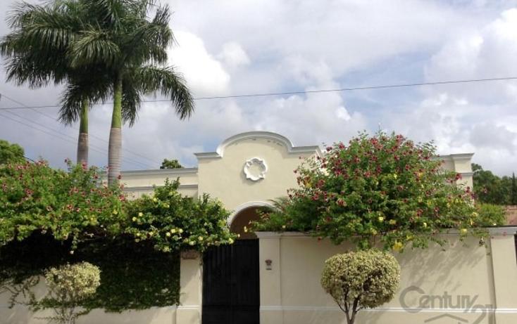 Foto de casa en venta en  , garcia gineres, m?rida, yucat?n, 805451 No. 01