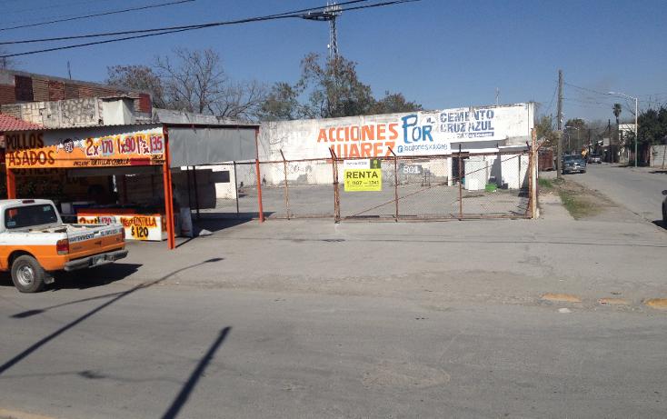 Foto de terreno comercial en renta en  , garza y garza, juárez, nuevo león, 1624596 No. 01