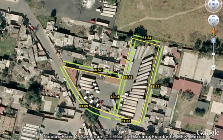 Foto de terreno habitacional en venta en general nicolas bravo, san juan, tultitlán, estado de méxico, 1566244 no 01