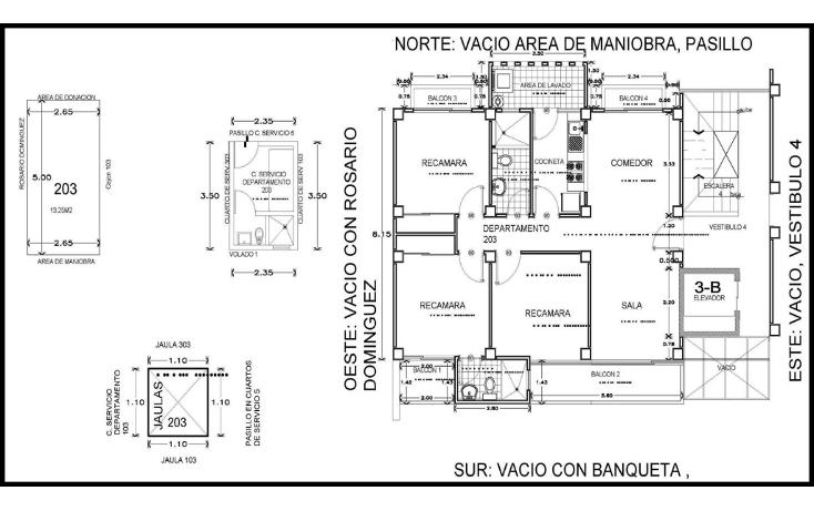 Foto de departamento en venta en  , gil y sáenz (el águila), centro, tabasco, 1253267 No. 02