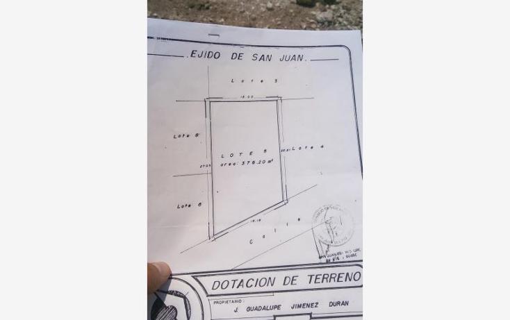 Foto de terreno habitacional en venta en girasol 0, loma linda, san juan del río, querétaro, 1944870 No. 03