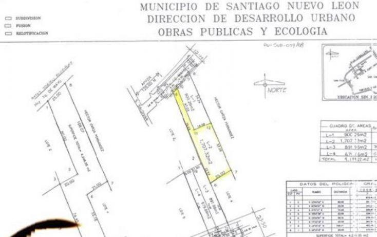Foto de terreno habitacional en venta en gral francisco a cardenas, san francisco, santiago, nuevo león, 2040202 no 03