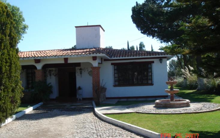 Foto de casa en venta en  , granjas, tequisquiapan, quer?taro, 940987 No. 01