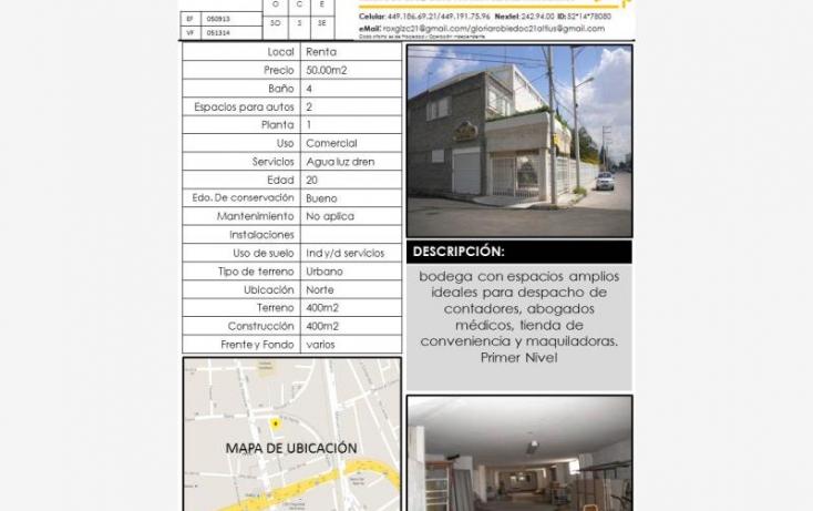 Foto de local en renta en, gremial, aguascalientes, aguascalientes, 375166 no 01