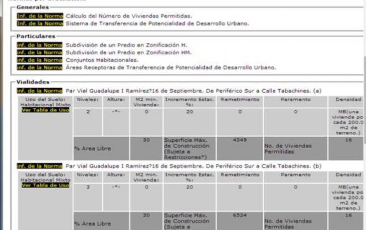 Foto de terreno habitacional en venta en guadalupe i ramirez 78, san lucas xochimanca, xochimilco, df, 1646712 no 05