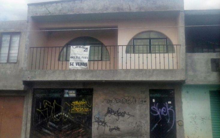 Foto de casa en venta en guadalupe victoria, solidaridad, morelia, michoacán de ocampo, 1706268 no 01