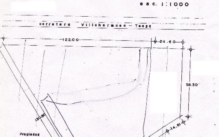 Foto de terreno comercial en venta en, guayabal, centro, tabasco, 1104587 no 01
