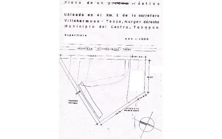 Foto de terreno comercial en venta en  , guayabal, centro, tabasco, 1104587 No. 01