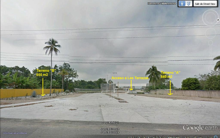 Foto de terreno comercial en renta en  , guayacan, nacajuca, tabasco, 1296271 No. 01
