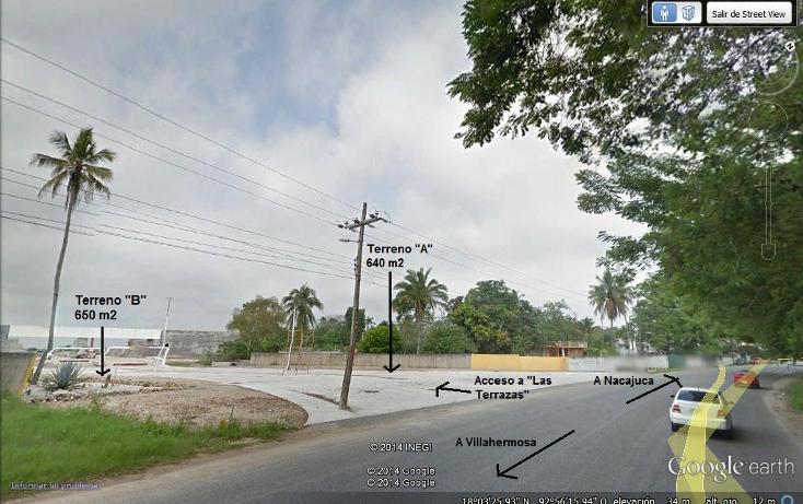Foto de terreno comercial en renta en  , guayacan, nacajuca, tabasco, 1296343 No. 02