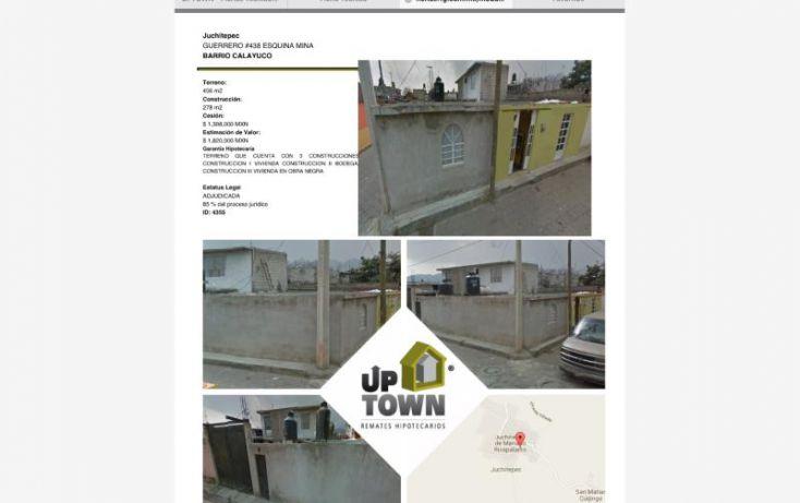 Foto de terreno habitacional en venta en guerrero 438, calayuco, juchitepec, estado de méxico, 1411669 no 01
