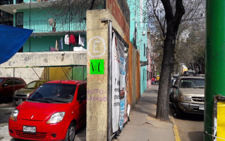 Foto de terreno habitacional en venta en, guerrero, cuauhtémoc, df, 1630888 no 01