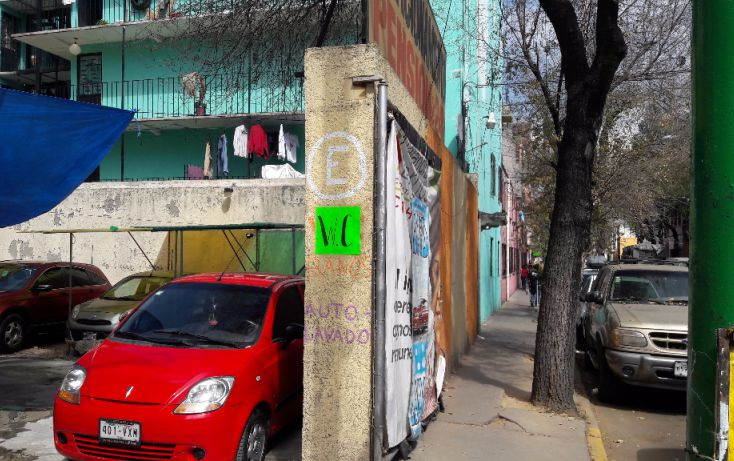 Foto de terreno habitacional en venta en, guerrero, cuauhtémoc, df, 1630888 no 02