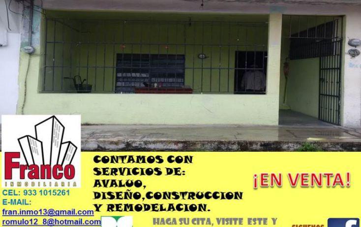 Foto de casa en venta en guillermo prieto, san silverio, comalcalco, tabasco, 1616712 no 01