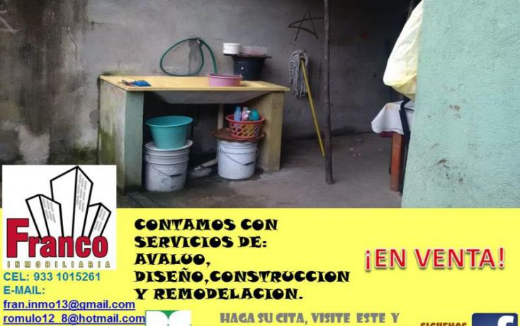 Foto de casa en venta en guillermo prieto, san silverio, comalcalco, tabasco, 1616712 no 05