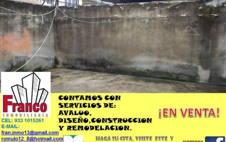 Foto de casa en venta en guillermo prieto, san silverio, comalcalco, tabasco, 1616712 no 06