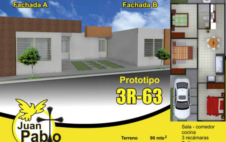 Foto de casa en venta en  , hacienda de juan pablo 1a sección, san luis potosí, san luis potosí, 1252541 No. 01